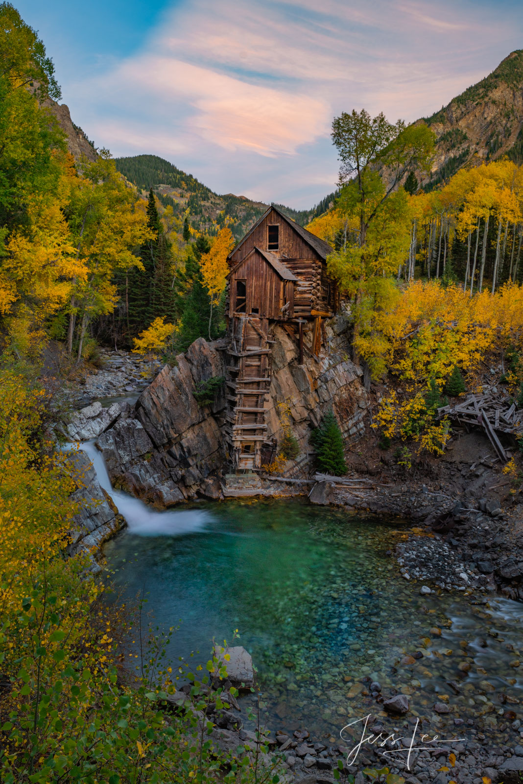 Crystal mill Colorado photo print Picture