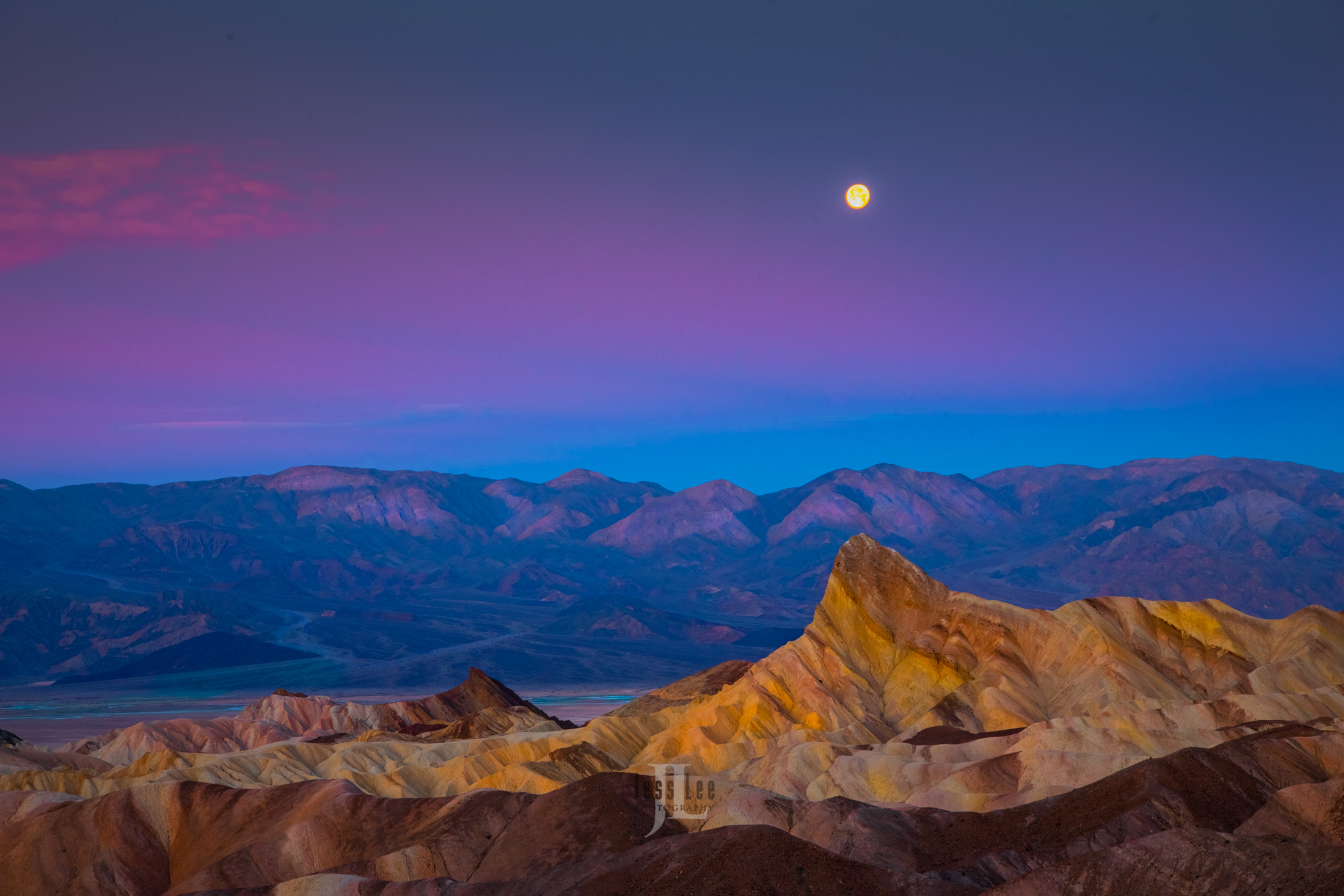 Limited Edition of 50 Exclusive high-resolution Museum Quality Fine Art Prints of a Alpen Glow Moon Photos Copyright © Jess...