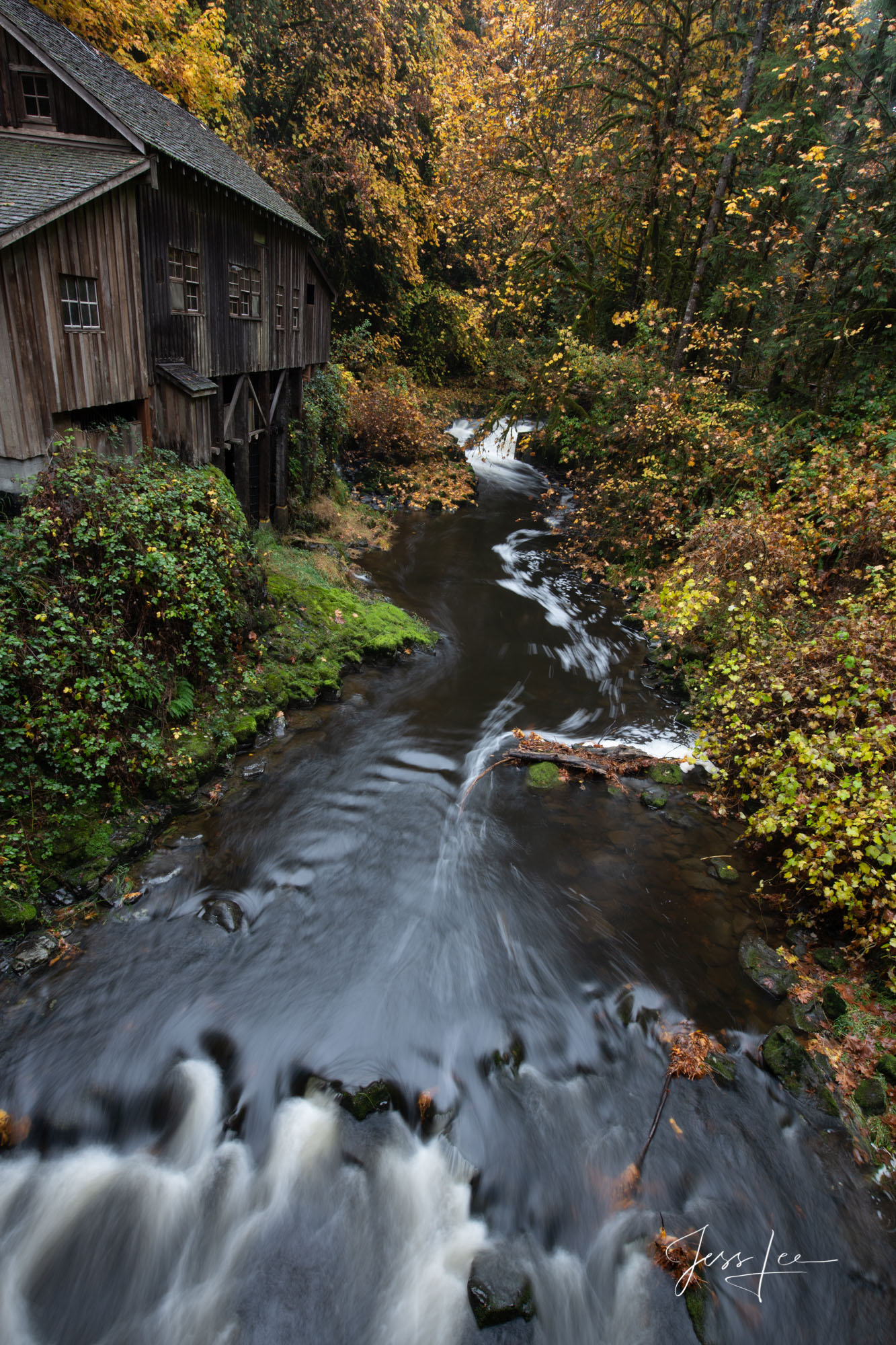 Fine Art Limited Edition Photography of Grist Mill in Washington. This is part of the luxurious collection of fine art, limited...