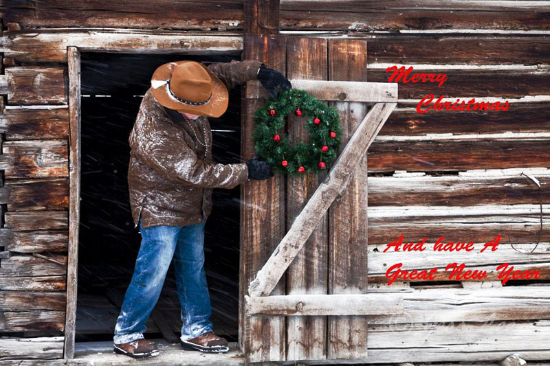 Cowboy Christmas in the Tetons