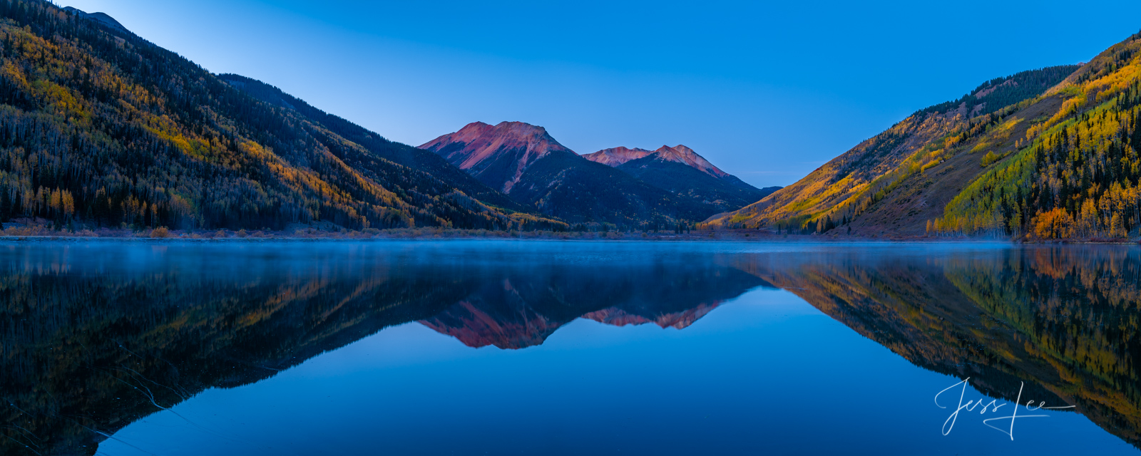 Blue Crystal Lake Print