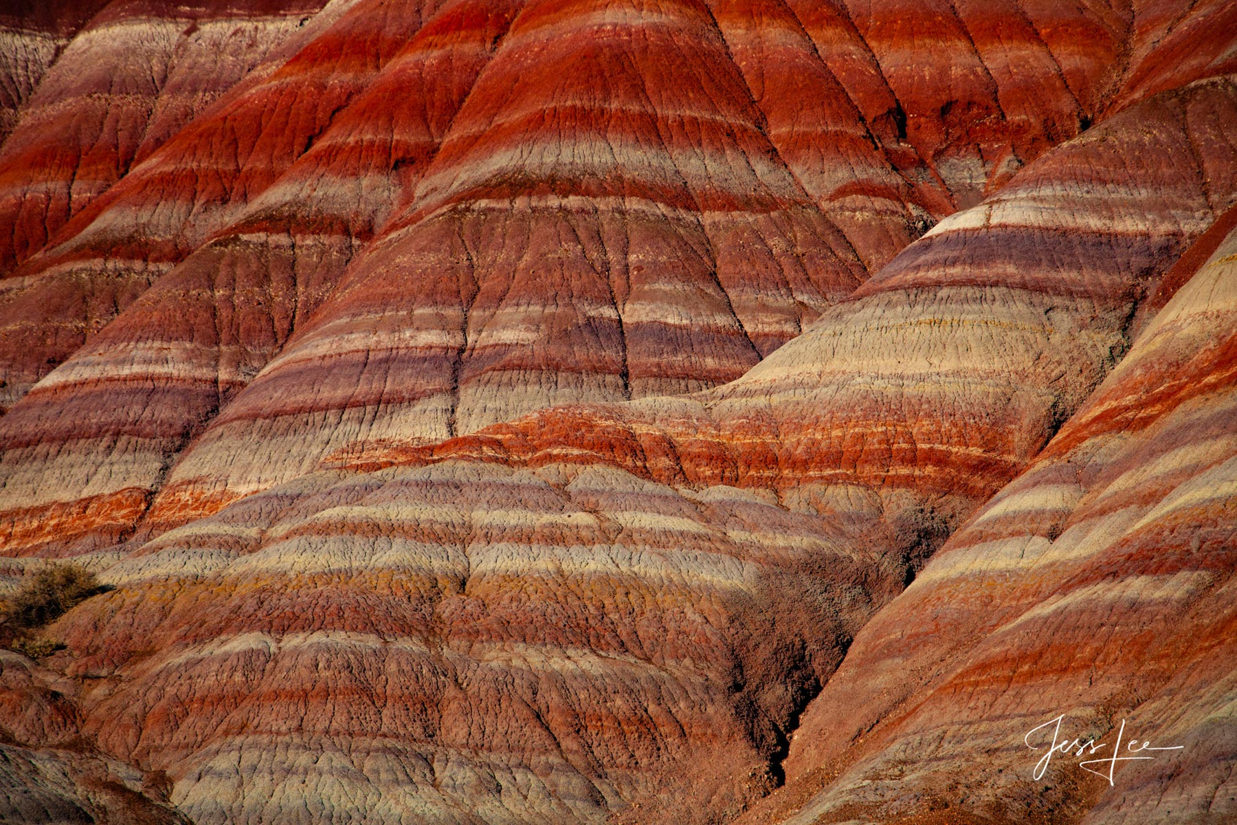Limited Edition of 50 Exclusive high-resolution Museum Quality Fine Art Prints of Sandstone patterns of Red Rocks Country in...