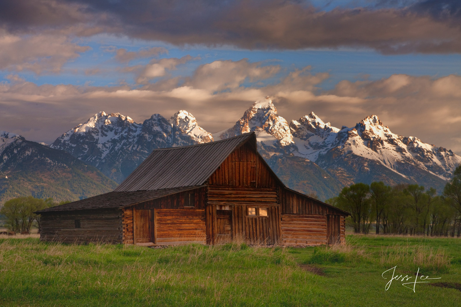 mountains, grand teton, barn, snow, trees, cowboy, western, Large format, cowgirl, ranch, museum quality, fine art, print, jess lee, artist, photographer, limited edition, high quality, hig, photo