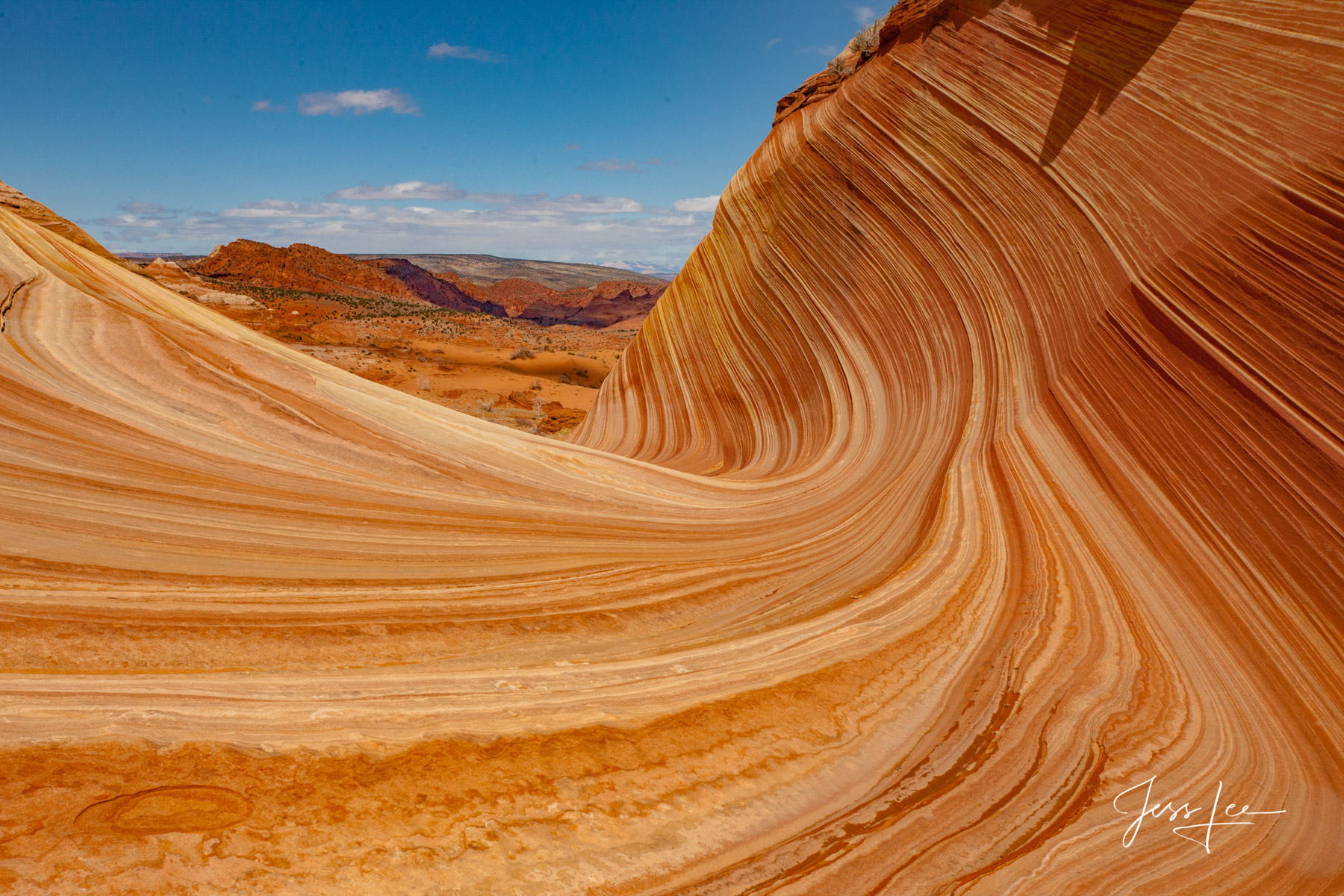 Picture of the wave in Red Rocks country.